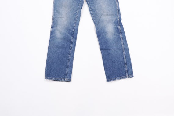 70s Rustler Distressed Straight Leg Denim Jeans B… - image 3