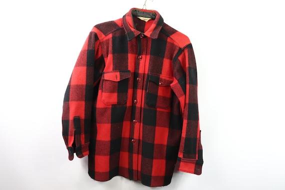 50s Woolrich Buffalo Plaid Full Button Shirt Jacke