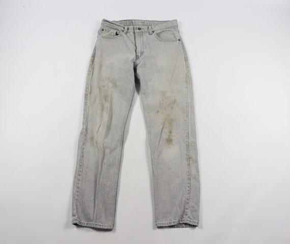 90s Levis 506xx Straight Fit Denim Jeans Pants Gra