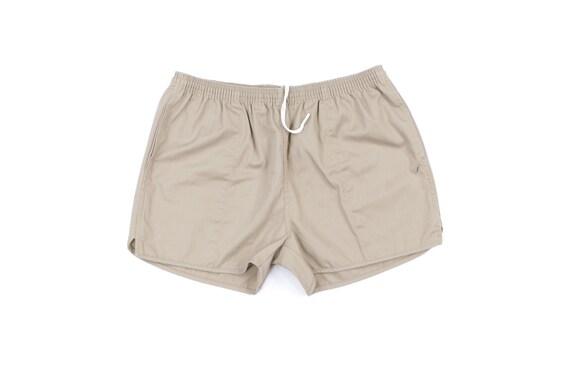 70s Cotton Blend Running Jogging Short Shorts USA