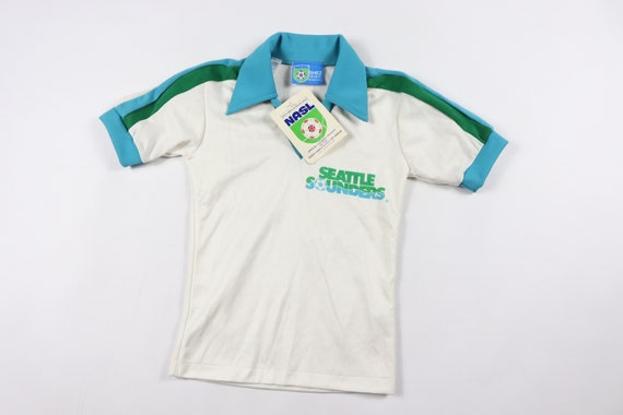 80s New Youth Small Seattle Sounders NASL Soccer J