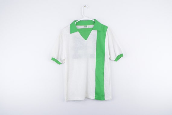 NOS 70s Pele Collared Short Sleeve Soccer Jersey W