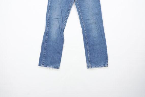70s Lee MR Distressed Straight Leg Jeans USA Talo… - image 3