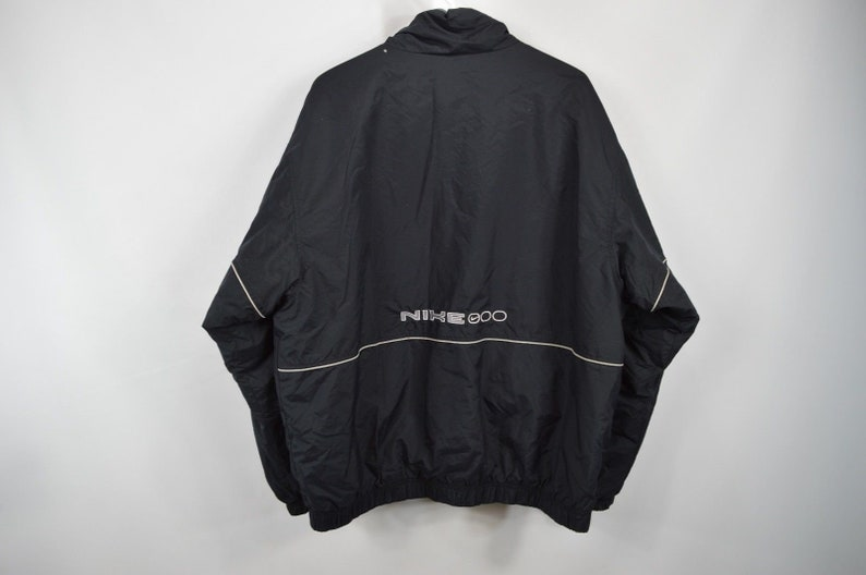 59c3aa7047f44 90s Nike Spell Out Swoosh Logo Full Zip Outdoor Puffer Jacket Mens Large  Black, Vintage Nike Jacket, 90s Puffer Jacket, Vintage Jacket