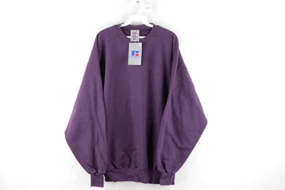 90s Russell Athletic Stitched Spell Out Sweatshirt