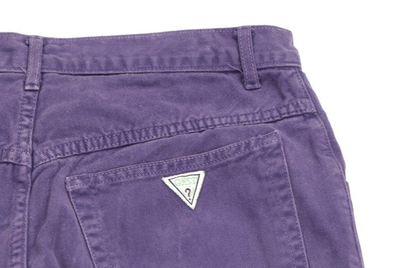 90s Guess Streetwear Spell Out Tapered Leg Jeans … - image 8
