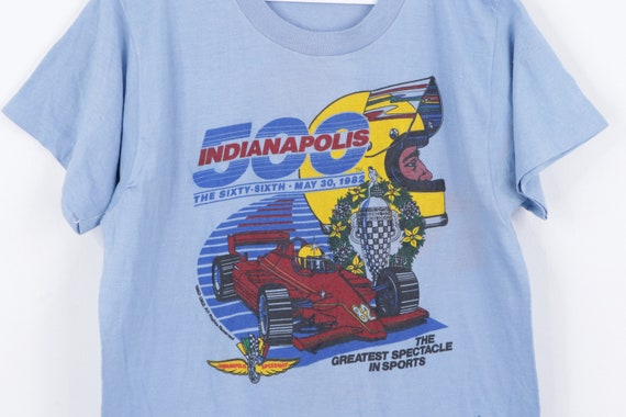 80s Indianapolis 500 1982 Car Racing Spell Out Sh… - image 3