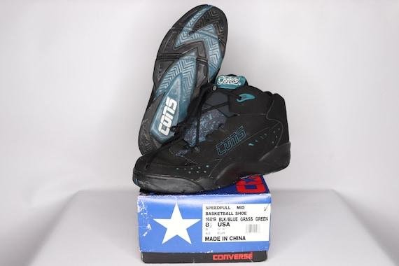 90s New Converse Cons Speedpull MId Basketball Sh… - image 4