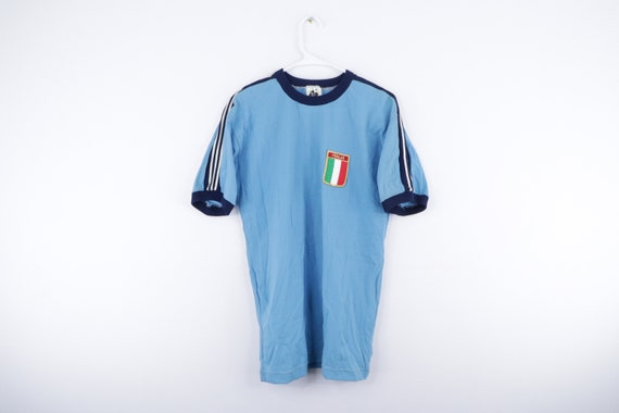 NOS 80s Italy Italia World Cup Patch Soccer Jersey