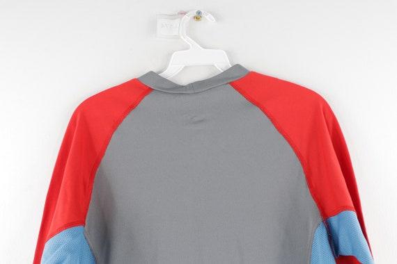 90s Nike Mini Center Swoosh Color Block Long Slee… - image 6
