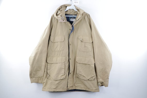 80s Woolrich Outdoor Multi-Pocket Hooded Parka Jac