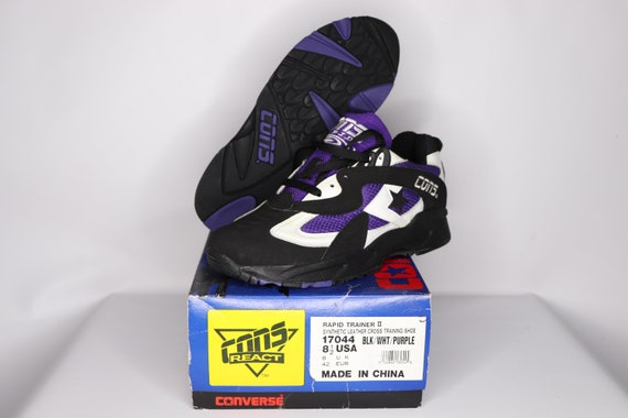 90s New Converse Cons React Rapid Trainer II Athl… - image 2