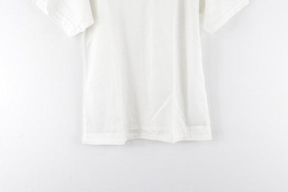NOS 70s Land N Sea Short Sleeve Blank Rockabilly … - image 3