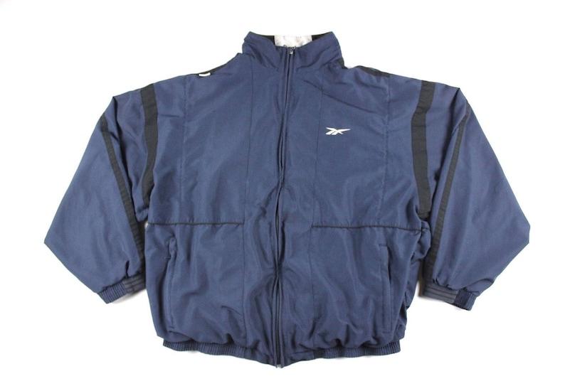 5ff74ee49bad6 90s REEBOK Spell Out Full Zip Lightweight Windbreaker Jacket Mens Large,  Vintage Reebok Jacket, Vintage Reebok, 90s Jacket, 90s Coat Blue