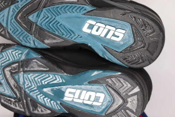 90s New Converse Cons Speedpull MId Basketball Sh… - image 7