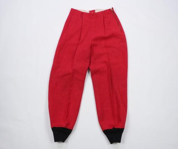 50s Chippewa Woolen Mills Wool Joggers Jogger Pant