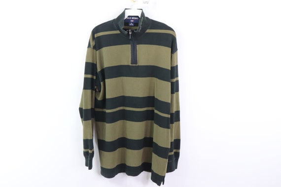 90s Polo Sport Ralph Lauren Spell Out Striped Half