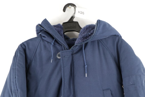 70s Sears Field Master Hooded Lined Parka Jacket … - image 2