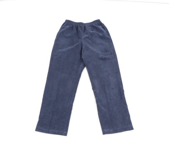 90s Streetwear Distressed Elastic Waist Corduroy P