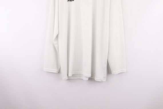 90s Fila Bjorn Borg Spell Out Long Sleeve Shirt T… - image 3