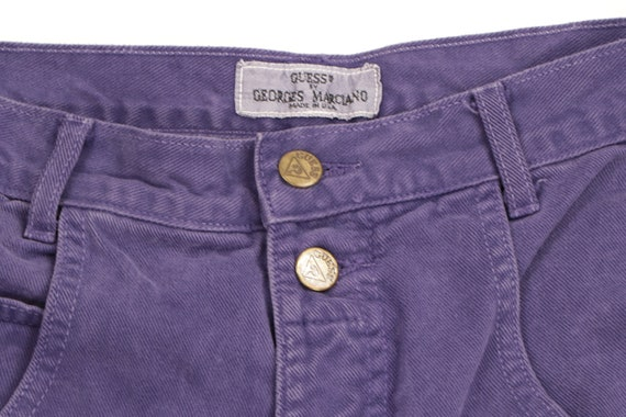 90s Guess Streetwear Spell Out Tapered Leg Jeans … - image 3