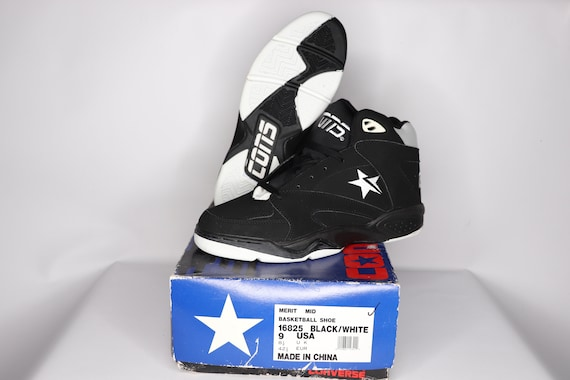 90s New Converse Cons Merit Mid Athletic Basketbal