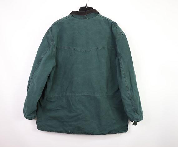 90s New Carhartt Mens Lined Corduroy Collar Chore… - image 8