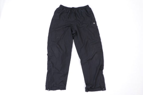 90s Champion Classic Logo Lined Athletic Sweatpant
