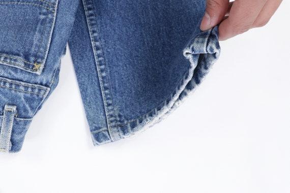 70s Lee MR Distressed Straight Leg Jeans USA Talo… - image 7