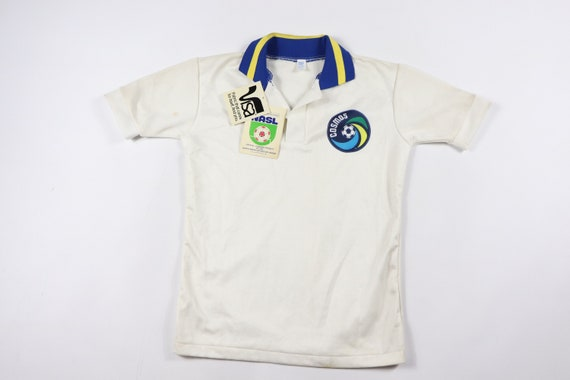 80s New Youth Large New York Cosmos NASL Soccer Je
