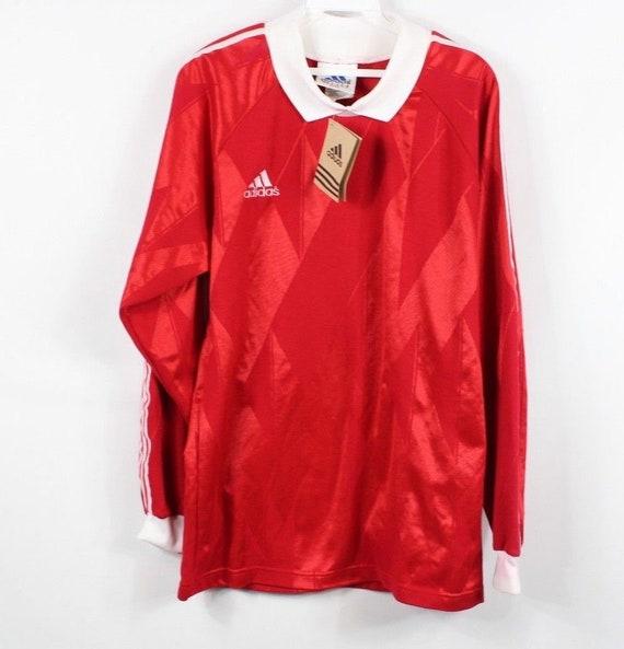 90s New Adidas Spell Out Soccer Goalkeeper Goalie