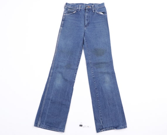 70s Wrangler Distressed Faded Bootcut Western Jean