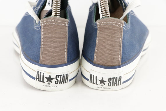 90s NOS Converse All Star Low Bowling Sneakers Sh… - image 4