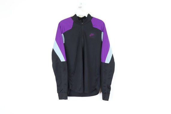 80s Nike International FIT Spell Out Color Block H