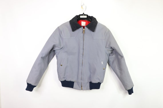 Vintage New 90s Carhartt Full Zip Quilt Lined Work