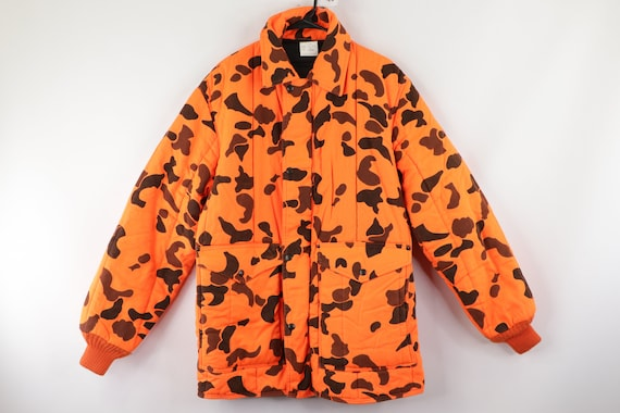 80s Refrigiwear Insulated Camouflage Hunting Parka