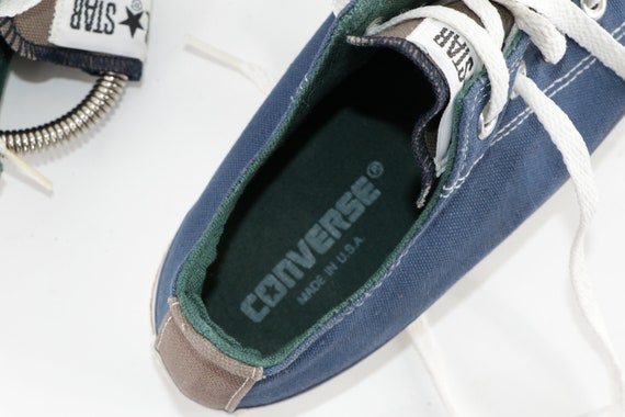 90s NOS Converse All Star Low Bowling Sneakers Sh… - image 6