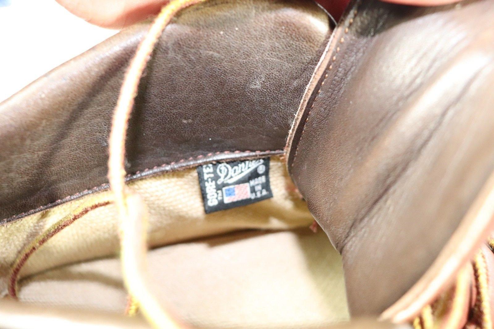 80s nuevo Danner Goretex cuero Hiking Mountain  botas botas botas  Marrón  hombres  9.5 D Vintage Danner Mountain  botas   hombres  Hiking  botas  1980s  hombres   botas  5cf2d9