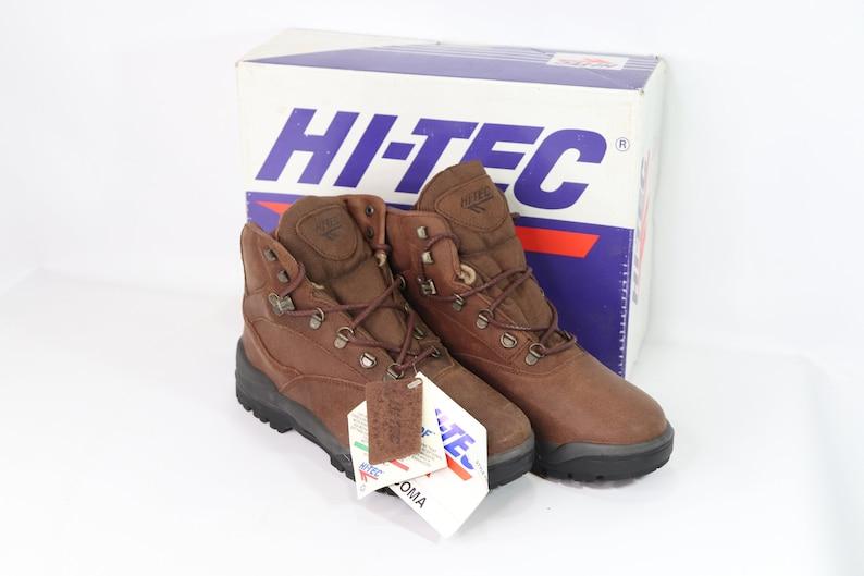 5c97a174ca8 90s New Hi Tec Mens 9 Tacoma Leather Outdoor Trail Hiking Boots Brown,  Hi-Tec Boots, 90s Hiking Boots, Hi-Tec Hiking Boots, 90s Boots,