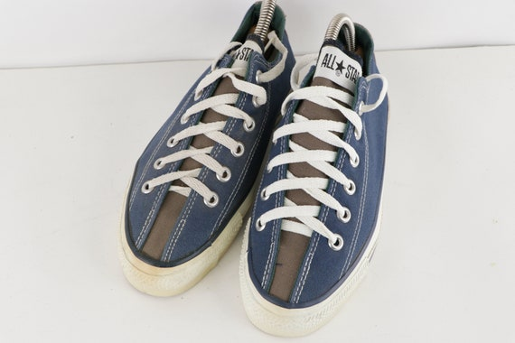 90s NOS Converse All Star Low Bowling Sneakers Sh… - image 2
