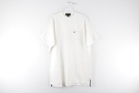 90s Rockabilly Blank Short Sleeve Pocket T-Shirt … - image 1