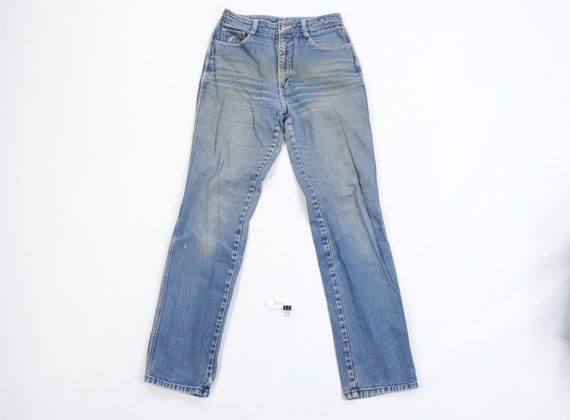 80s Jordache Distressed Faded Bootcut Mom Jeans US