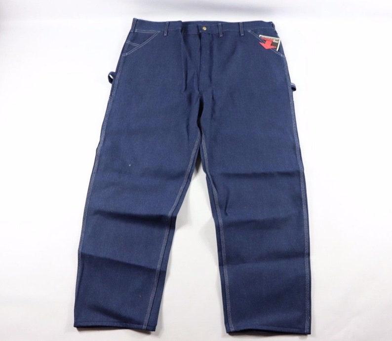 11b2e7c1 70s New Sears Toughskins Union Made Carpenter Denim Jeans   Etsy