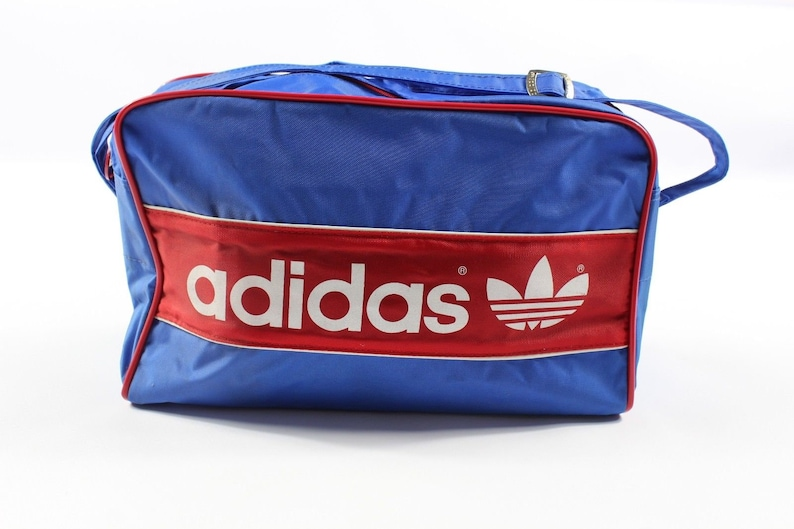 Handled Adidas Spell Nylon Duffel Travel Bag Trefoil 80s Weekender Red NewVintage BagAdidas Out Blue 0OkXN8ZwPn