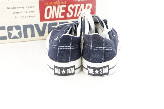 90s NOS Deadstock Converse One Star Suede Ox Snea… - image 3