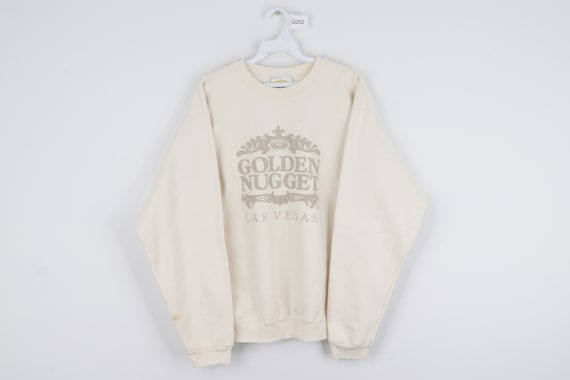 90s Streetwear Golden Nugget Casino Las Vegas Swea