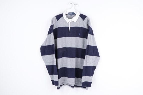 90s Ralph Lauren Striped Color Block Long Sleeve P