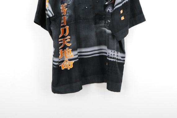 90s Streetwear Anime Print Asian All Over Print B… - image 9