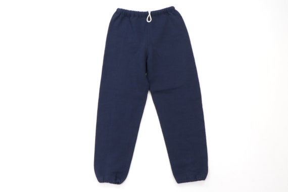 80s Russell Athletic Blank Cotton Jogger Sweatpant