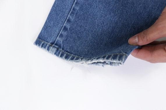 70s Lee MR Distressed Straight Leg Jeans USA Talo… - image 6